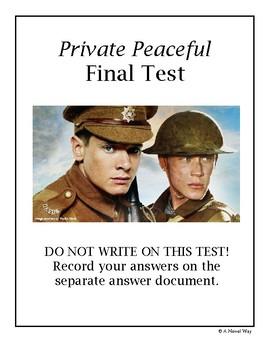 Private Peaceful Final Test