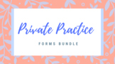 Private Practice Forms Bundle