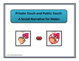 Social Narrative for Males about Masturbation (Appropriate/Inappropriate Touch)