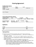 Private Tutoring Forms