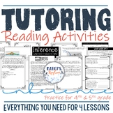 Private Tutoring Reading Activities for Inference 4th & 5th grade