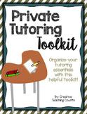 Private Tutoring Toolkit