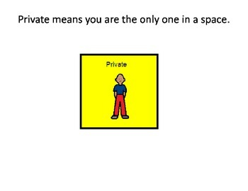 Private Vs. Public Social Story