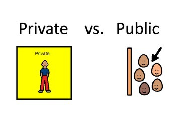 Private Vs. Public Social Story