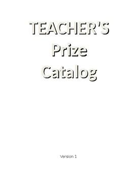 Prize Catalog
