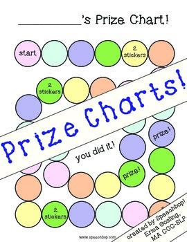 Prize - Reward Charts! - FREE