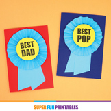 Prize Ribbon fathers day card