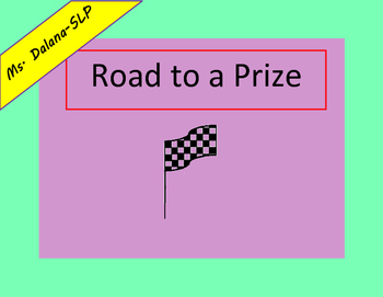 Prize Road Behavior Management Speech Therapy