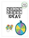 Prize or Spinner Wheel Ideas