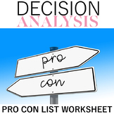 Pro Con Decision Analysis