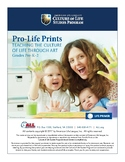 Pro-Life Prints (teacher guide and workbook)