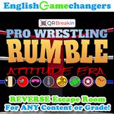 Pro Wrestling RUMBLE: Attitude Era REVERSE Escape Room!