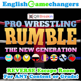 Pro Wrestling RUMBLE: The New Generation REVERSE Escape Room!