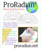 ProRadian Protractor 25-set Classroom Bundle