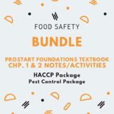 Food Safety BUNDLE  (Family and Consumer Science, FACS, FCS)
