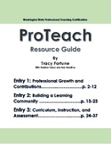 ProTeach Resource Guide - Entries 1,2 & 3 (Washington Stat