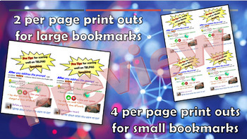 ProTips for TELPAS Speaking: Posters & Bookmarks!