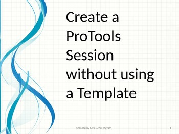 ProTools - Creating a New Session without a Template