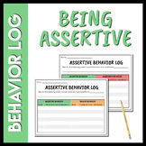Assertive Behavior Log