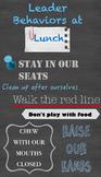 Leader Behaviors at Lunch Poster