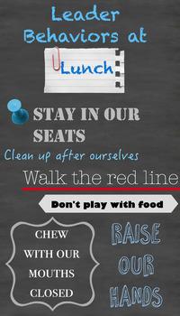 Leader Behaviors at Lunch