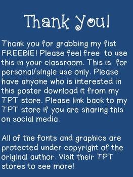 Proactive Classroom Poster