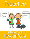 Proactive Interactive PowerPoint and Worksheet