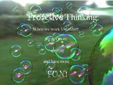 Proactive thinking