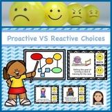 Proactive vs Reactive Choice Cards