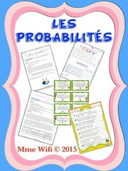Probabilité - 4e / Probability Gr.4