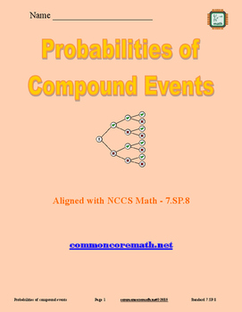 Probabilities of Compound Events - 7.SP.8