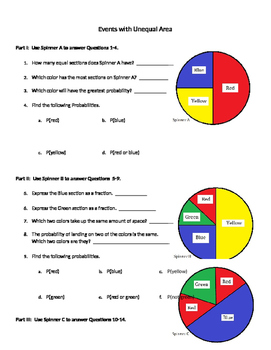 Probability 06 - Theoretical Probability with Unequal Area