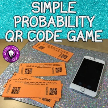 Simple Probability QR Code Game