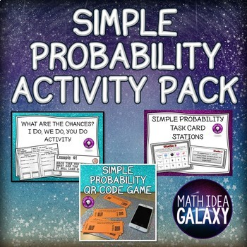 Simple Probability Activity Pack