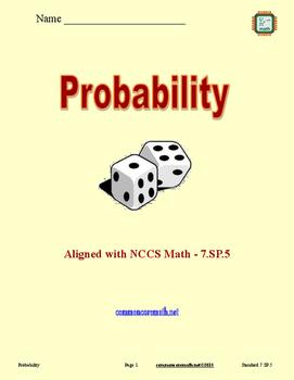 Probability - 7.SP.5