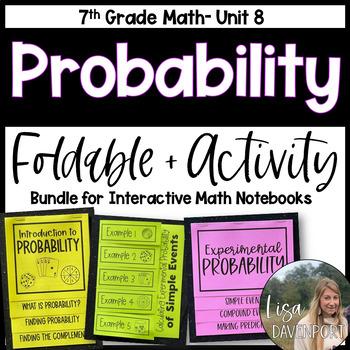 Probability (7th Grade Foldable & Activity Bundle)