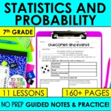 Probability- 7th Grade Math Notes Bundle