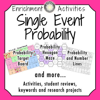 Single Event Probability Activities
