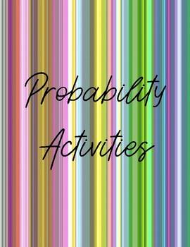 Probability Activities Bundle