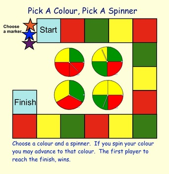 Probability Activities For Gr 3-4  Smartboard Interactive Lessons