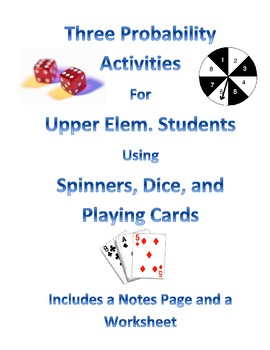 Probability Activities for Upper Elementary Students