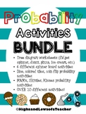 Probability Activity BUNDLE