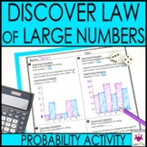 Probability Activity Discover Law of Large Numbers