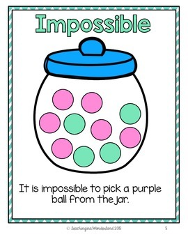 {Grade 2} Probability Activity Packet