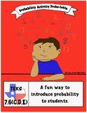 Probability Activity: Probo-Lotto