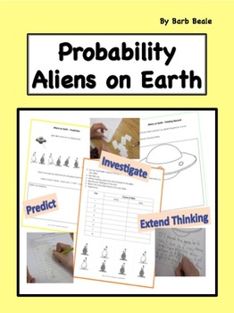 Probability - Aliens on Earth Probability - 3 pages