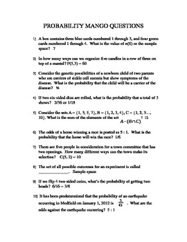 Addition Rules And Multiplication Rules For Probability ...