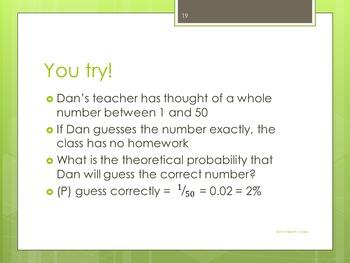 Probability Basics: A Power Point Lesson