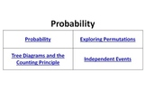 Probability Bell Ringers Counting Principle Permutations Independent Events