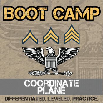 Coordinate Plane Boot Camp - Differentiated Practice Assignments
